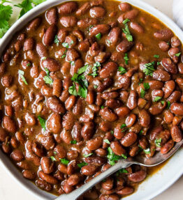 BBQ pinto beans